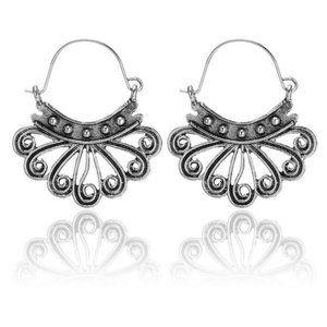3/$20 New Silver Geometric Earrings
